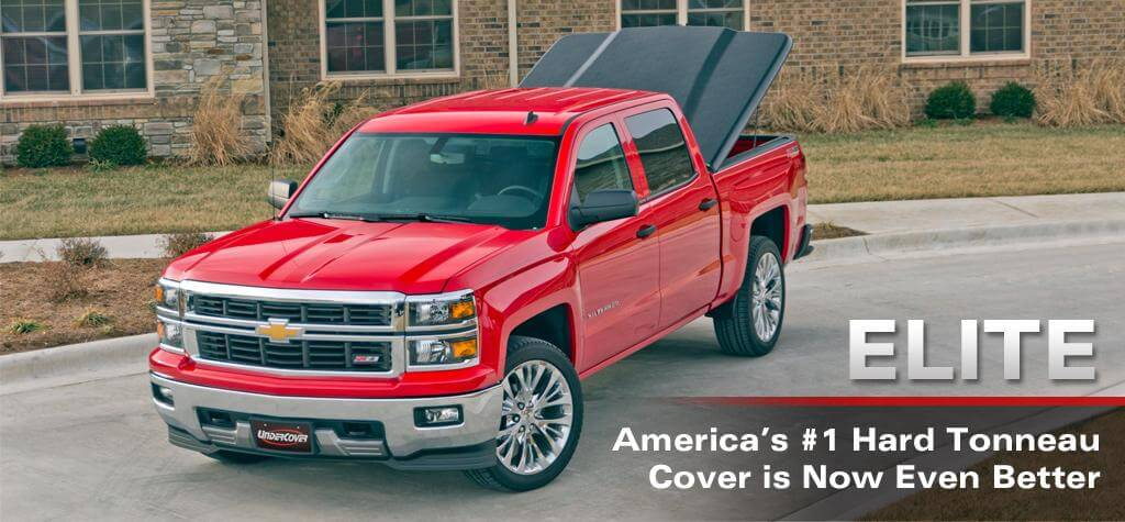 UnderCover newest truck bed cover - the Elite