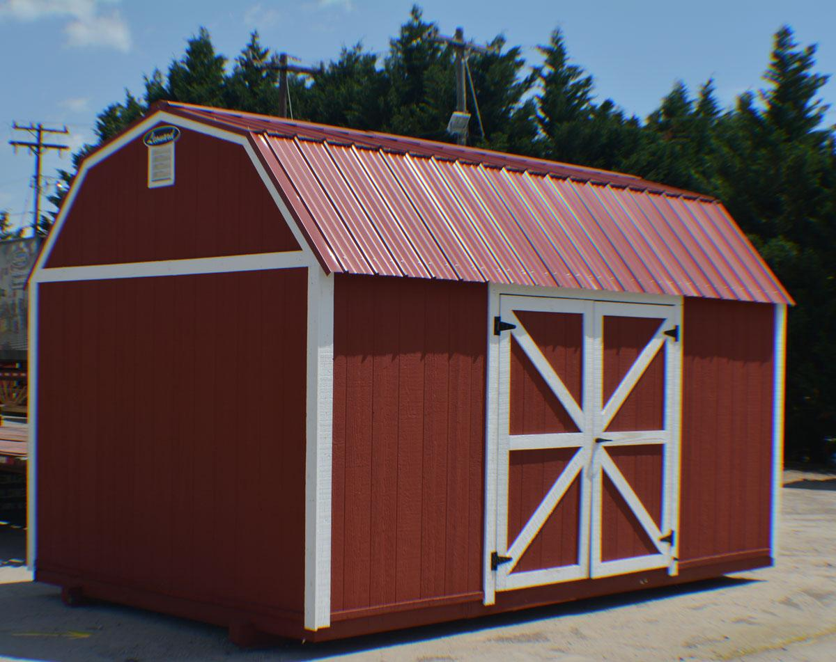 Barns and Barn Style Sheds | Leonard Buildings & Truck ...
