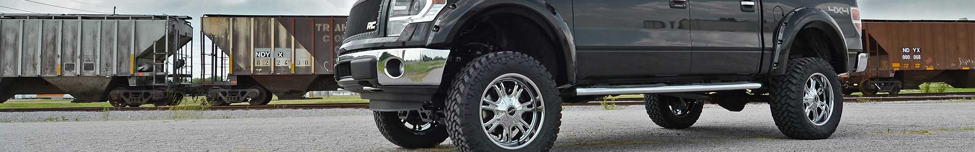 WHEELS, TIRES, AND LIFT KITS FOR TRUCKS