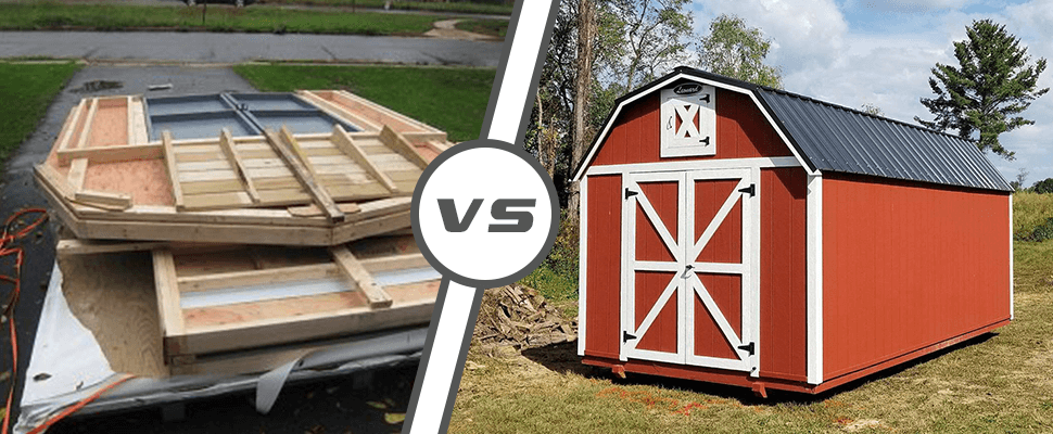 Should You Choose a Shed Kit Vs a Custom-Built Shed from a Manufacturer?
